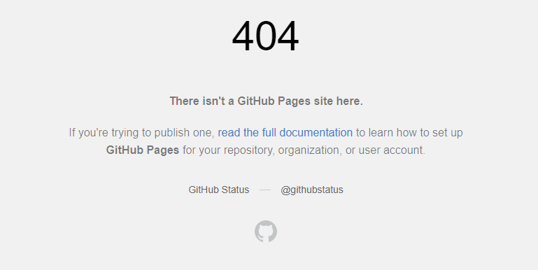 There isn't a GitHub Pages site here